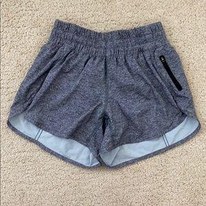 lululemon gray tracker shorts